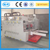 high speed flexo lead edge feeding printing slotting die cutting machine