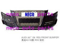 auto body parts fit for Audi A5 2008 rs5 front bumper