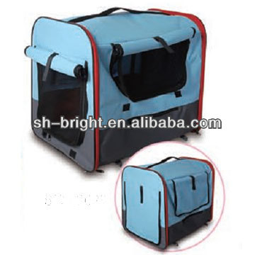 Portable Dog Pet Kennel/House Carrier Soft Crate Cage