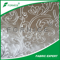 Manufacturer embossed fabric 100% polyester /upholstery textile