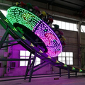 Park Outdoor Thrilling UFO Flying Rides Electric Used Major Amusement Equipment