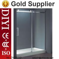 DYS8113 shower door hinges and parts plastic shower enclosure and prefab glass shower room