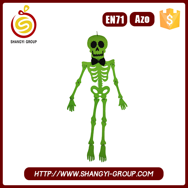 Wholesale high quality halloween sugar skull ornaments party supplies
