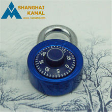 Round combination locks