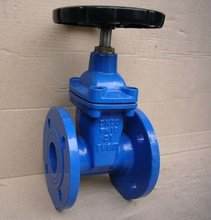High quality DN900 gate valve with rubber wedge