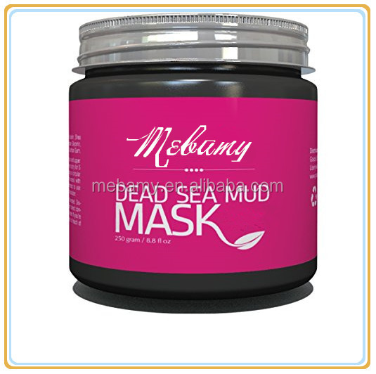 100%Natural Organic Beauty Face Mask Dead Sea Mud Mask Israel Private Label