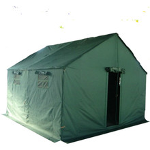 relief shelter camping army canvas roof top family olive green military tent