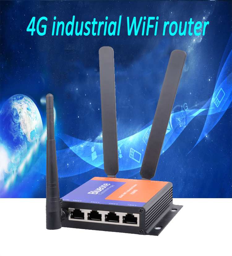 Stable Wireless Data Transmission SDK VPN Modbus 4G Industrial Router