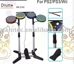 Wired drum for wii