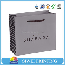 Top sale lovely jewelry gift packaging paper bag