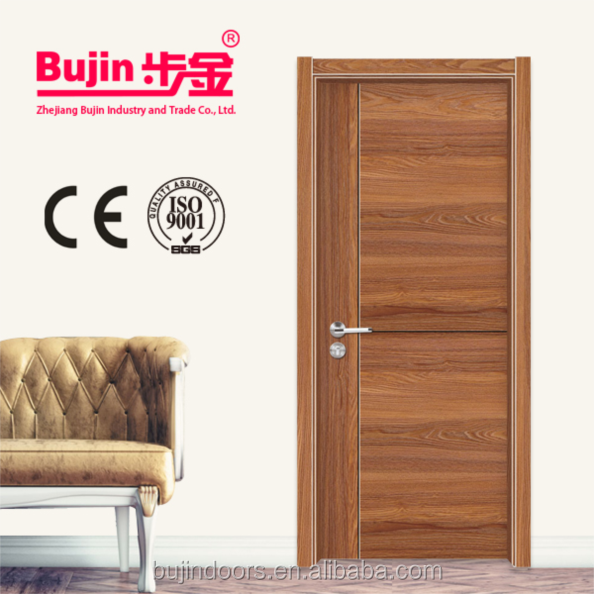 Hot steel construction building material latest main house steel gate design interior solid wood door design