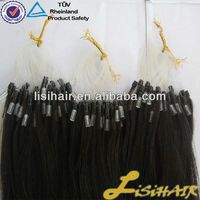 Wholesale 100% Remy Cheap Russian Double Drawn 1g European Micro Beads Hair Extensions