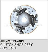 Motorcycle spare parts and accessories motorcycle clutch shoe assy for CRYPTON