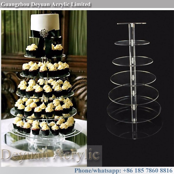 Acrylic Wedding Cupcake Tower Stands Cake Tier Stand Buy
