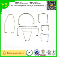 manufacturer custom wire forming spring clips ,U shape spring clips