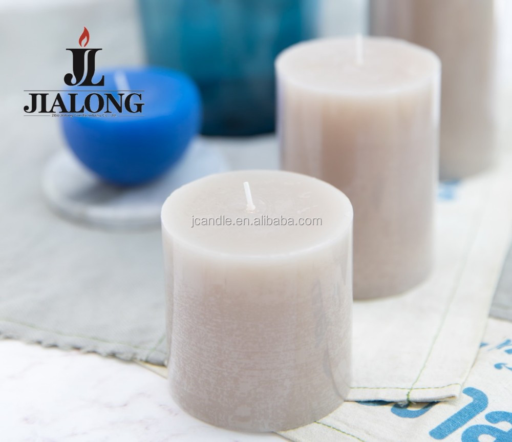 pillar candle scented with fragrance aromatherapy candles