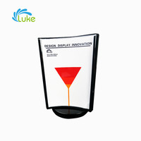 Elegant design acrylic display stand, acrylic displayer, desktop acrylic display stand