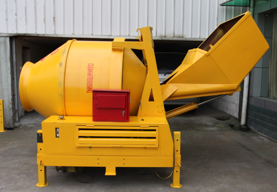 HOT SALE JZC 350 Yan mar diesel engine Hydraulic Concrete Mixer