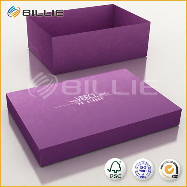 Famous Supplier Blank Shoe Box