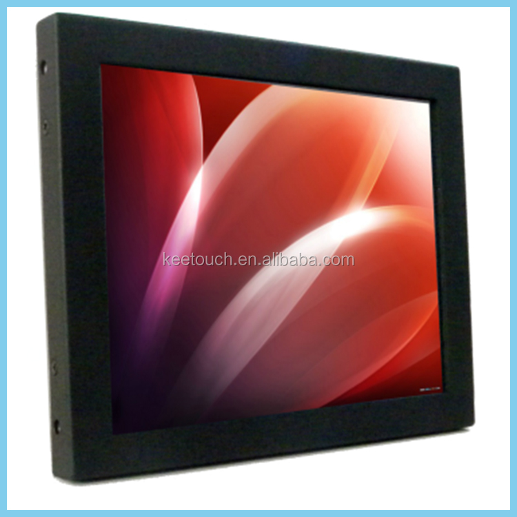 "8"" tft touch screen smart monitor 8 inch open frame capacitive touch monitor for industrial application"