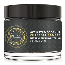 Activated Charcoal Teeth Whitening All Natural Powder With Complimentary Bamboo Brush and Remove Stains