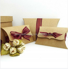 china shenzhen custom pillow box for hair extension packaging