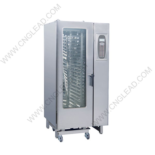 GL-2021H Commercial 20 Trays Gas/Electric Combi Oven