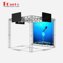 TourGo 10 x 10 Truss Trade Show Exhibit Display Panel Truss System