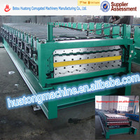 C8 & C20 Double layer steel roof and wall tile making machine