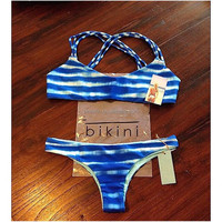 Hot style custom wholesale colorful pakistani girl bikini photo