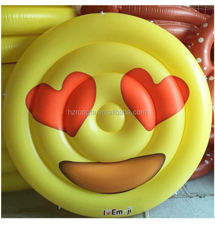 Giant Inflatable emoji float / pool float Water Play float Equipment