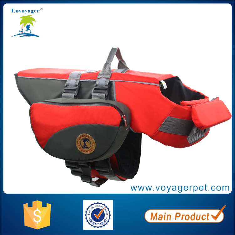 Lovoyager Multifunctional pet clothes dog life jacket vest coat