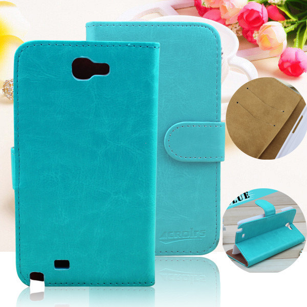 Hot Selling Crystal Grain Design Leather Stand Case for motorola razr d3 xt919 With Card-slots
