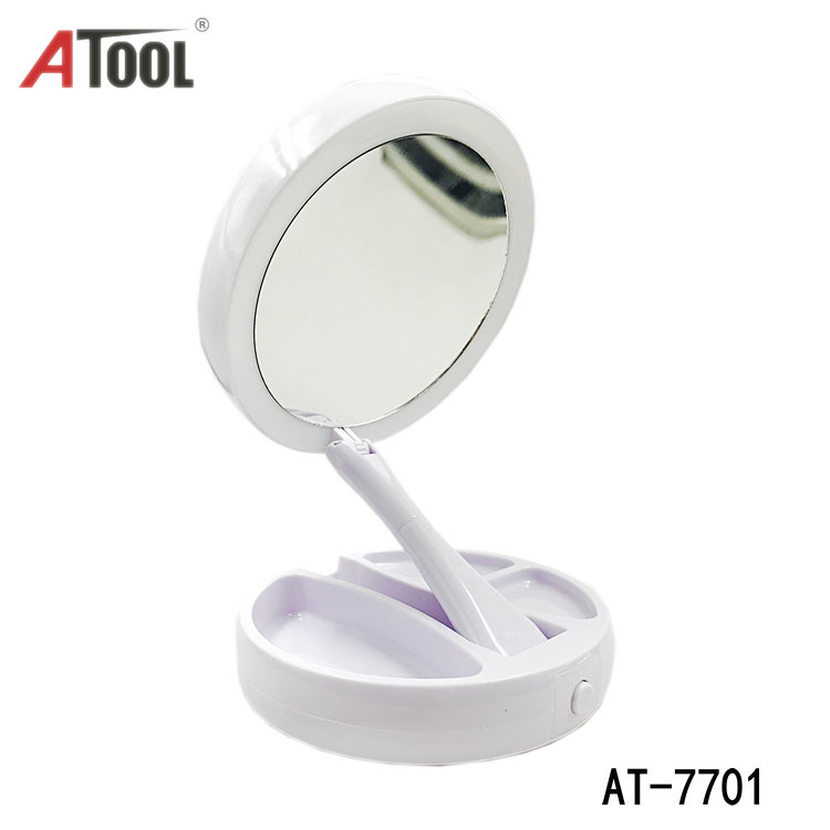 Double Sided LED Lighted Make-up Magnifying Mirror Cosmetie mirror