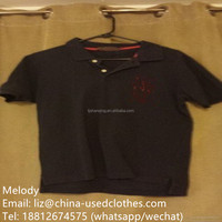 used clothing/used children POLO T-shirt