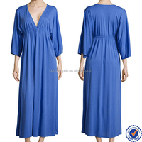 OEM sellers long one piece maxi lady fashion simple casual new lounger dresses for women