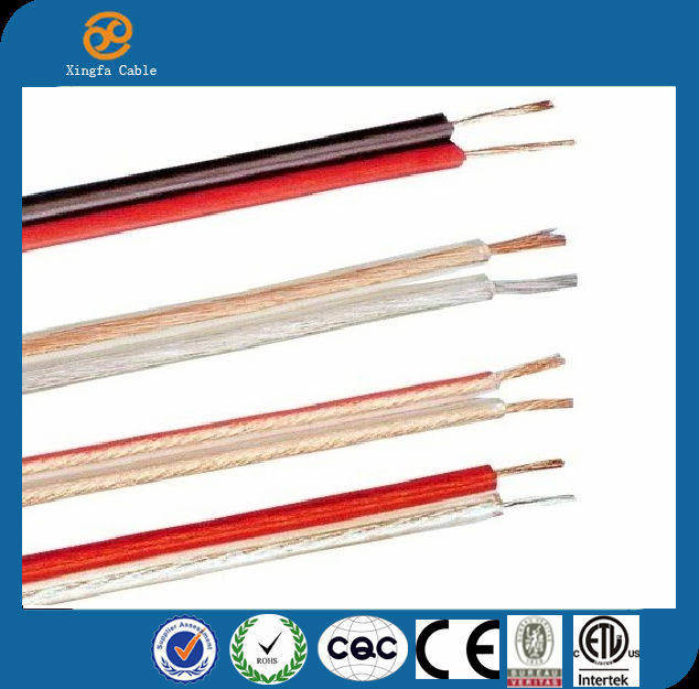 China Promotion high quality 2 Cores flat wire power cable