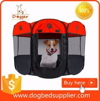 Foldable high quality Portable 8 panel Fabric Pet Dog Cat Exercise Pen Playpen Kennel