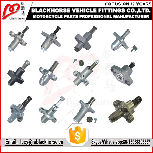 Motorcycle spare parts supplier chain tensioners kit set for bajaj 225