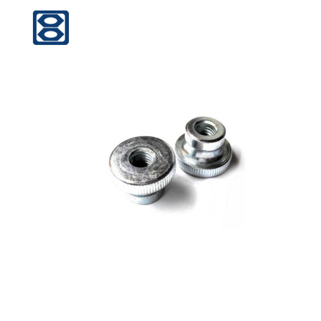 SS Knurled Thumb Nuts for Decorative Parts