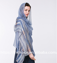 Chiffon Printed Beach Sarong Wrap Sexy Scarf head covering scarf
