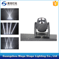 dj stage lighting equipment 100w Single color four heads mini size led beam moving head