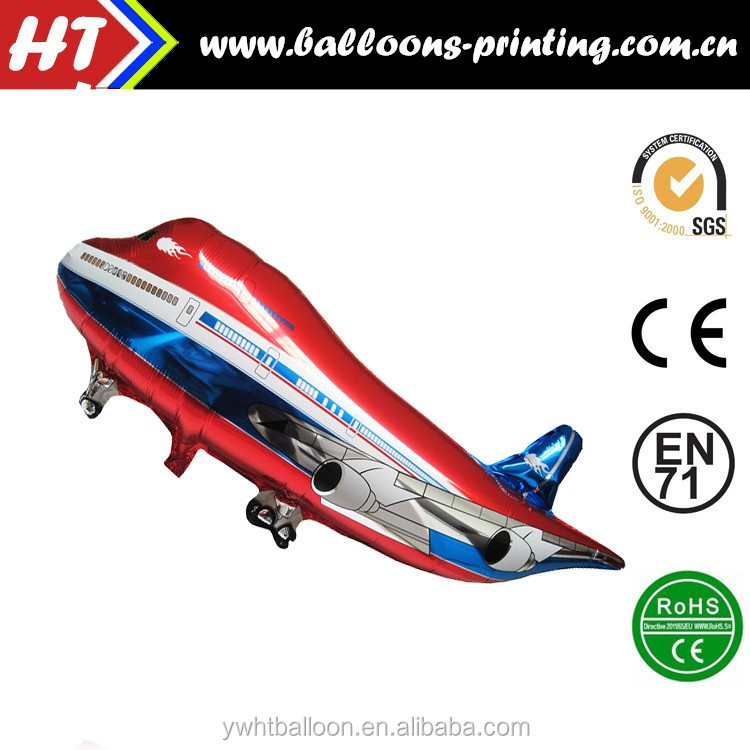 [HOT] Helicopter Balloons Wholesale Red Plane Foil Balloon