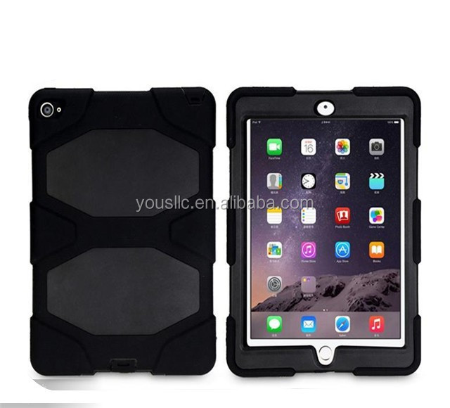 Military Builder Workman Heavy Duty Shock Proof Tough Case Cover For Ipad air 2