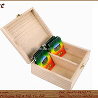 100 Natural Wood Tea Display Box