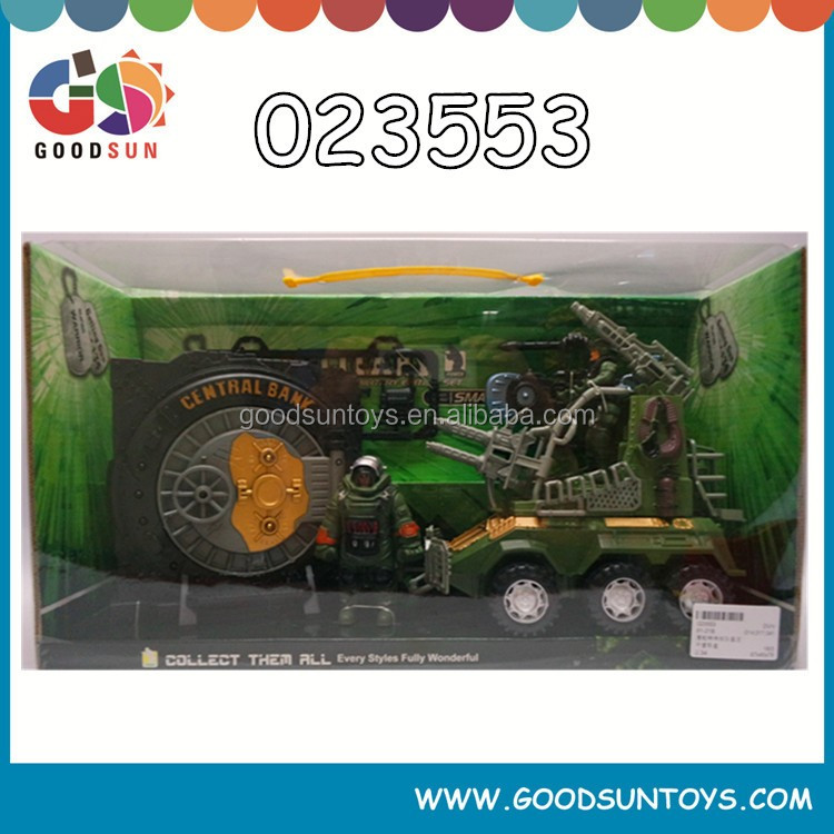 Hottest and latest children high quality cheap military toys play set with EN71