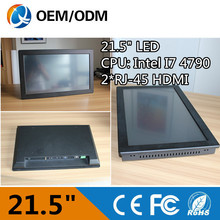 new products 21.5 inch tablet pc all in one desktop computer 500G