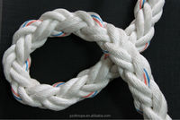 8 strand 40mm crimps tow marine braided nylon rope price