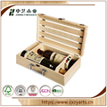factory wholesale gift wine wooden box from zhongyi