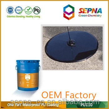 Reaction with Atmospheric Moisture Roofing Polyurethane Waterproof Coating